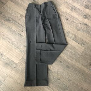 New York & Co. gray high waist wide leg trouser